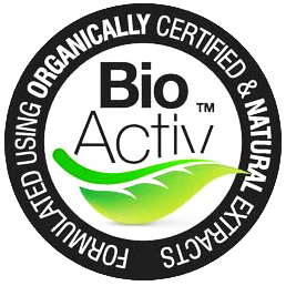 BioActiv: Formulated Using Organically Certified & Natural Extracts